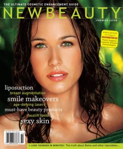 new beauty magazine featuring dr. haywood
